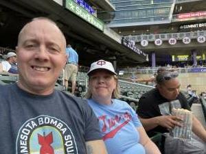 Donnie attended Minnesota Twins vs. New York Yankees - MLB on Jun 9th 2021 via VetTix