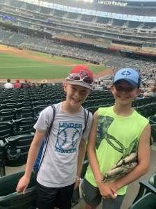 The white family  attended Minnesota Twins vs. New York Yankees - MLB on Jun 9th 2021 via VetTix