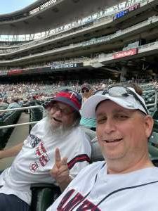 Darin attended Minnesota Twins vs. New York Yankees - MLB on Jun 9th 2021 via VetTix