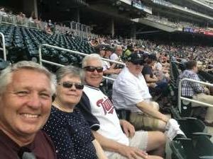 Tracy Rupe attended Minnesota Twins vs. New York Yankees - MLB on Jun 9th 2021 via VetTix