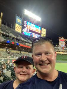 Chris attended Minnesota Twins vs. New York Yankees - MLB on Jun 9th 2021 via VetTix