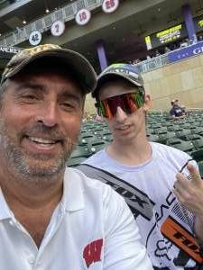 Ky attended Minnesota Twins vs. New York Yankees - MLB on Jun 9th 2021 via VetTix