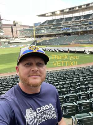 Jamie attended Minnesota Twins vs. New York Yankees - MLB on Jun 9th 2021 via VetTix