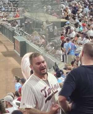 Mike attended Minnesota Twins vs. New York Yankees - MLB on Jun 9th 2021 via VetTix