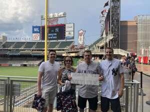 The Engels attended Minnesota Twins vs. New York Yankees - MLB on Jun 9th 2021 via VetTix