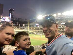 Joshua Riviere attended Minnesota Twins vs. New York Yankees - MLB on Jun 9th 2021 via VetTix