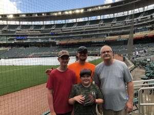 Gary Schroeder  attended Minnesota Twins vs. New York Yankees - MLB on Jun 9th 2021 via VetTix