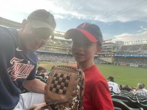 Father/Son Experience with Friends attended Minnesota Twins vs. New York Yankees - MLB on Jun 9th 2021 via VetTix