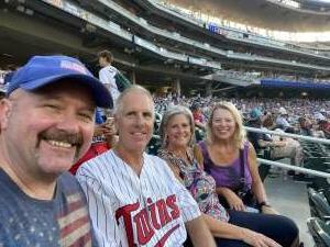 John Horn attended Minnesota Twins vs. New York Yankees - MLB on Jun 10th 2021 via VetTix