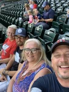 Jim Gustafson attended Minnesota Twins vs. New York Yankees - MLB on Jun 10th 2021 via VetTix