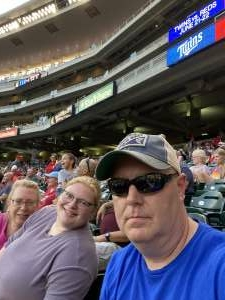 Christopher Barnum attended Minnesota Twins vs. New York Yankees - MLB on Jun 10th 2021 via VetTix