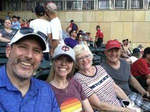 David Lobner attended Minnesota Twins vs. New York Yankees - MLB on Jun 10th 2021 via VetTix