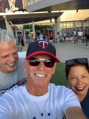 Eugene  attended Minnesota Twins vs. New York Yankees - MLB on Jun 10th 2021 via VetTix