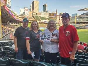 David attended Minnesota Twins vs. New York Yankees - MLB on Jun 10th 2021 via VetTix
