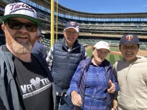 Michael Brown attended Minnesota Twins vs. New York Yankees - MLB on Jun 10th 2021 via VetTix