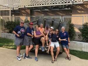 Sue Wagner attended Minnesota Twins vs. New York Yankees - MLB on Jun 10th 2021 via VetTix