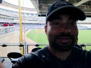 Curtiss attended Minnesota Twins vs. New York Yankees - MLB on Jun 10th 2021 via VetTix