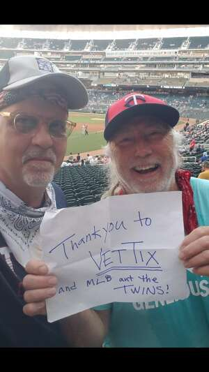 Dave W attended Minnesota Twins vs. New York Yankees - MLB on Jun 10th 2021 via VetTix