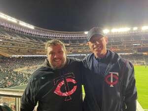 MMOREY attended Minnesota Twins vs. New York Yankees - MLB on Jun 10th 2021 via VetTix