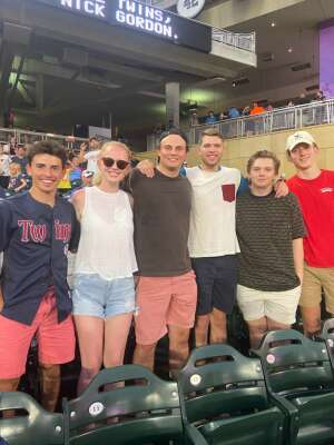 dave attended Minnesota Twins vs. New York Yankees - MLB on Jun 10th 2021 via VetTix