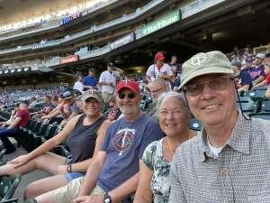 GW attended Minnesota Twins vs. New York Yankees - MLB on Jun 10th 2021 via VetTix