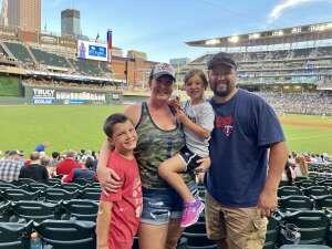 Mike Barraza attended Minnesota Twins vs. New York Yankees - MLB on Jun 10th 2021 via VetTix