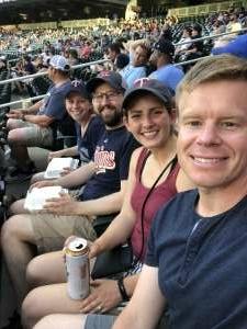 Daniel Hekter attended Minnesota Twins vs. New York Yankees - MLB on Jun 10th 2021 via VetTix