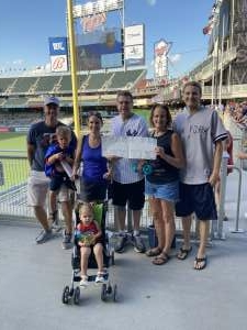 Engels/Hinmans attended Minnesota Twins vs. New York Yankees - MLB on Jun 10th 2021 via VetTix