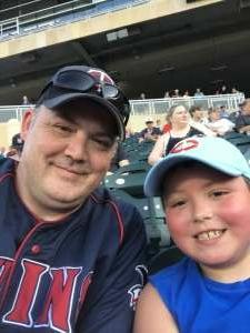 Brian attended Minnesota Twins vs. New York Yankees - MLB on Jun 10th 2021 via VetTix