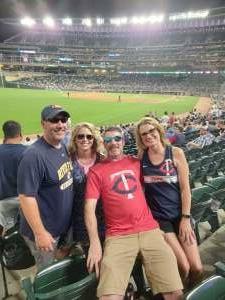 Tim attended Minnesota Twins vs. New York Yankees - MLB on Jun 10th 2021 via VetTix