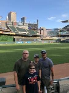 Gary Lee Schroeder, Sr attended Minnesota Twins vs. New York Yankees - MLB on Jun 10th 2021 via VetTix