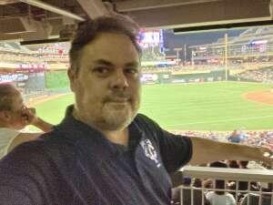 Jeff and Maggie attended Minnesota Twins vs. Houston Astros - MLB on Jun 11th 2021 via VetTix