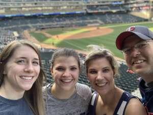 Amy attended Minnesota Twins vs. Houston Astros - MLB on Jun 11th 2021 via VetTix