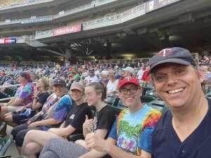 Nathan attended Minnesota Twins vs. Houston Astros - MLB on Jun 11th 2021 via VetTix