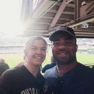 Curtiss  attended Minnesota Twins vs. Houston Astros - MLB on Jun 11th 2021 via VetTix