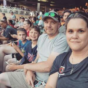 TGarner attended Minnesota Twins vs. Houston Astros - MLB on Jun 11th 2021 via VetTix