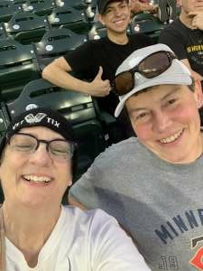 Carol attended Minnesota Twins vs. Houston Astros - MLB on Jun 11th 2021 via VetTix