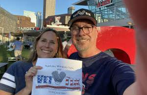 Mac attended Minnesota Twins vs. Houston Astros - MLB on Jun 11th 2021 via VetTix
