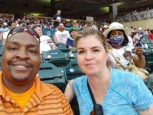 Vince attended Minnesota Twins vs. Houston Astros - MLB on Jun 11th 2021 via VetTix