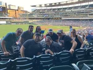Scott  attended Minnesota Twins vs. Houston Astros - MLB on Jun 11th 2021 via VetTix