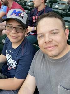 Rossol Family  attended Minnesota Twins vs. Houston Astros - MLB on Jun 11th 2021 via VetTix