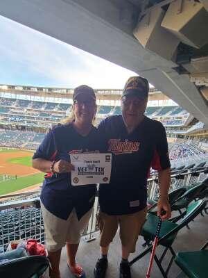 James attended Minnesota Twins vs. Houston Astros - MLB on Jun 11th 2021 via VetTix