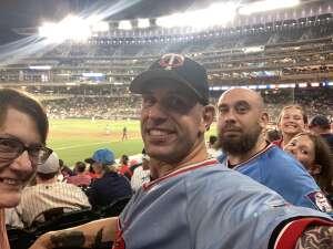 Joshua Riviere attended Minnesota Twins vs. Houston Astros - MLB on Jun 11th 2021 via VetTix