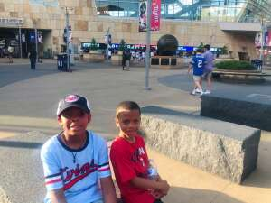 Thompson Family  attended Minnesota Twins vs. Houston Astros - MLB on Jun 11th 2021 via VetTix