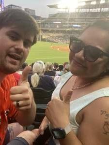 EJ attended Minnesota Twins vs. Houston Astros - MLB on Jun 11th 2021 via VetTix