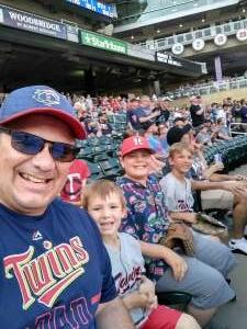 Doc S. attended Minnesota Twins vs. Houston Astros - MLB on Jun 11th 2021 via VetTix