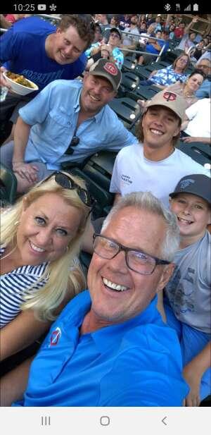 Hulty attended Minnesota Twins vs. Houston Astros - MLB on Jun 12th 2021 via VetTix
