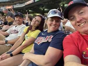Donnie attended Minnesota Twins vs. Houston Astros - MLB on Jun 12th 2021 via VetTix