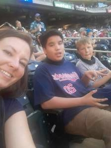 Tina attended Minnesota Twins vs. Houston Astros - MLB on Jun 12th 2021 via VetTix
