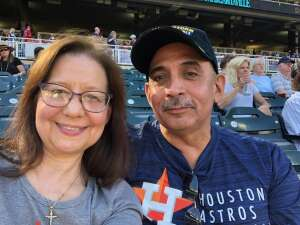 David attended Minnesota Twins vs. Houston Astros - MLB on Jun 12th 2021 via VetTix